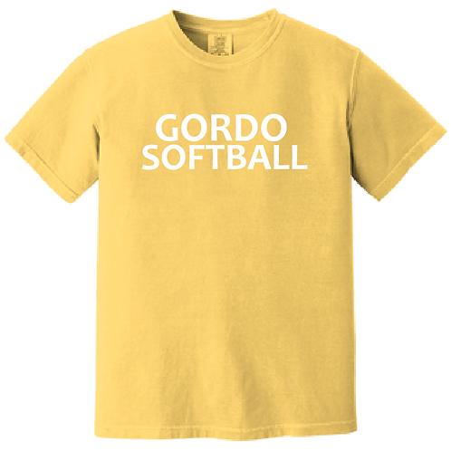 Gordo Softball Comfort Color