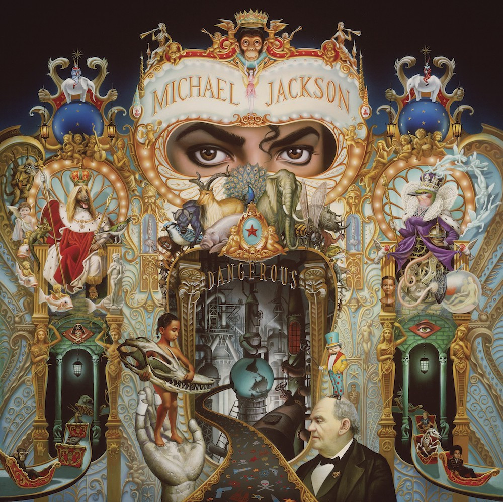 Michael jackson, exposition On the wall