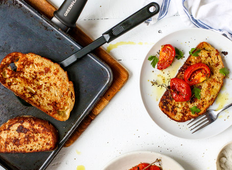 Cherry Tomato French Toast