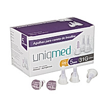 Agulhas para Canetas aplicadoras de Insulina