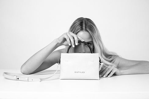 About Distyled - sustainable fashion brand, vegan leather, zero waste, eco friendly bags