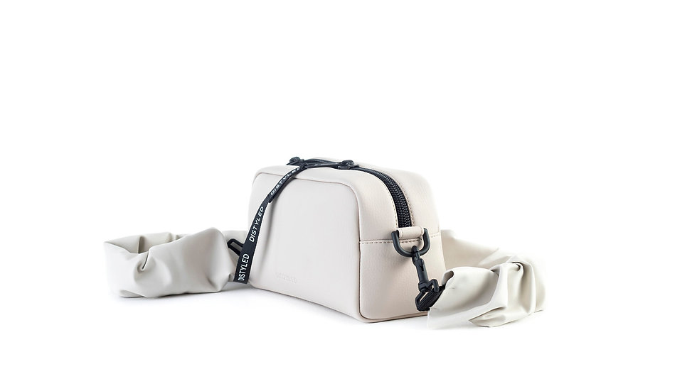 Camera bag, medium/ rugged strap beige Distyled