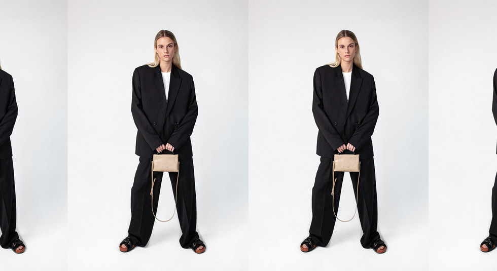Sustainable fashion brand distyled - eco friendly, zero waste, vegan leather bags