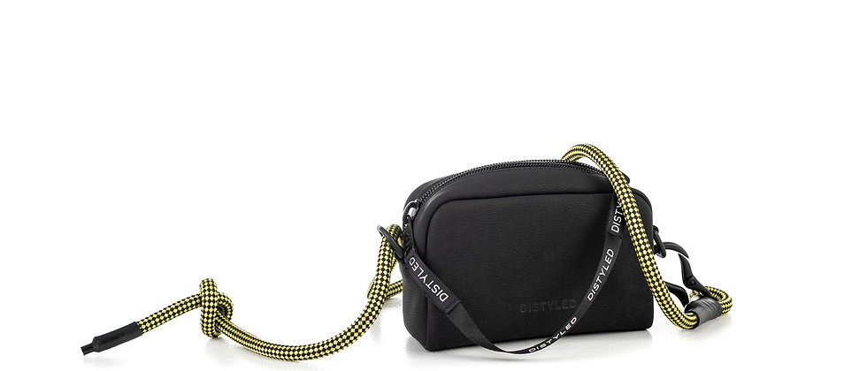 Eco camera bag, small /Climbing rope