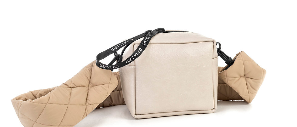 Eco Box bag, small / quilted strap