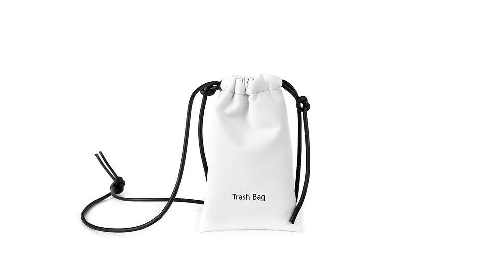Mini trash bag white Distyled