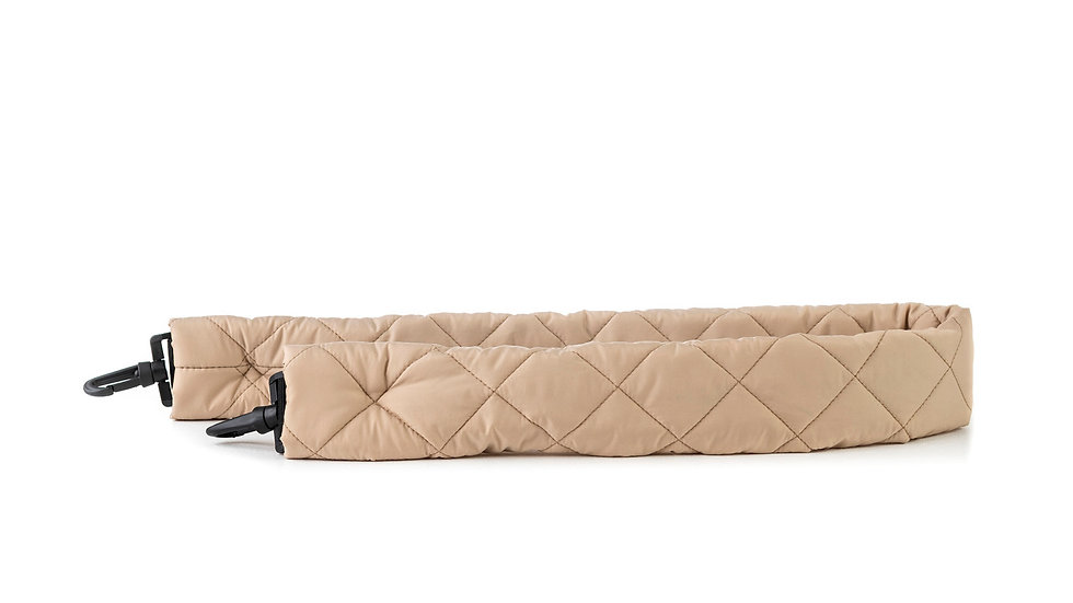 Quilted strap for bag Distyled