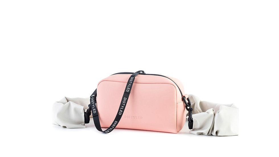 Camera bag, medium/ rugged strap candy pink Distyled