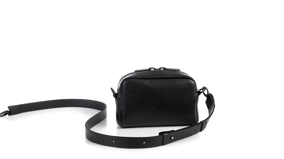 Eco camera bag, small / Flat strap 2.5