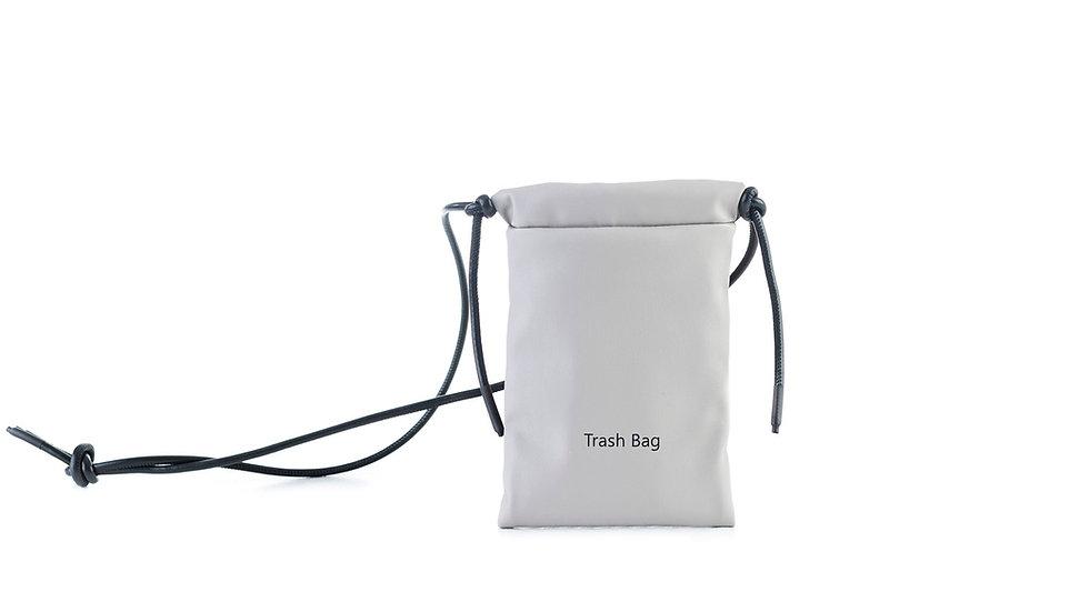 Mini trash bag light grey Distyled