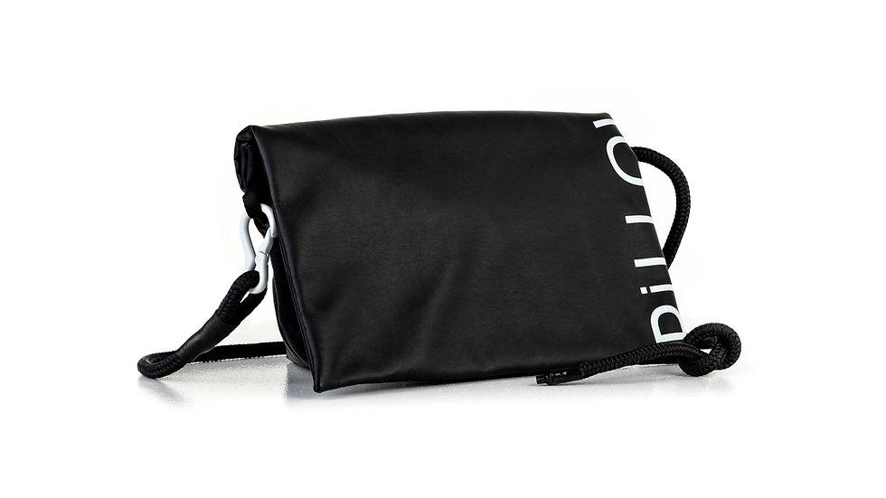 Padded pillow bag, small / overshot print