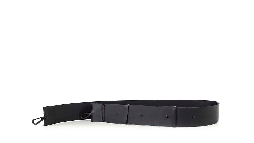 Flat leather strap 4 cm