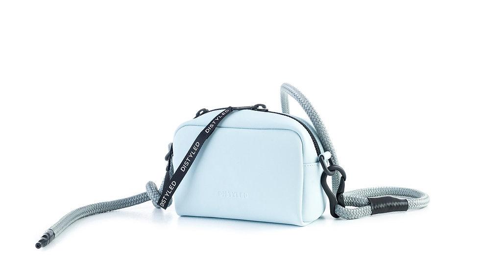 Camera bag, medium/Climbing rope light blue Distyled