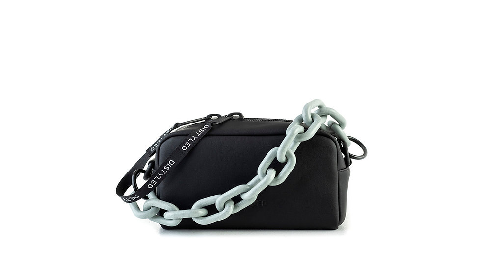 Camera bag, medium/ recycled chain