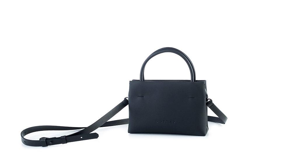 Mini shopping bag black Distyled