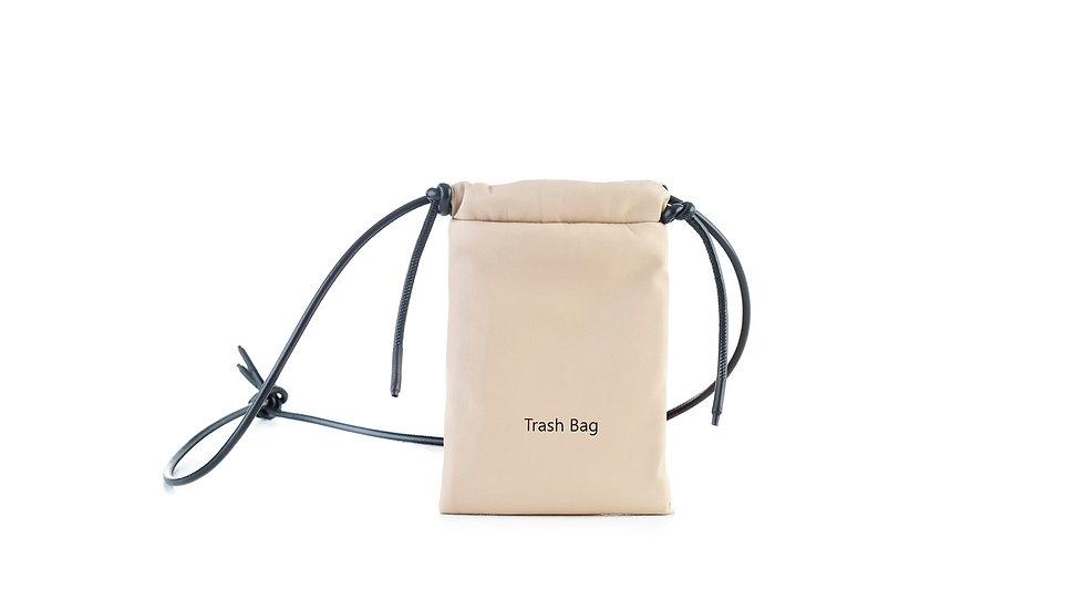 Mini trash bag beige Distyled