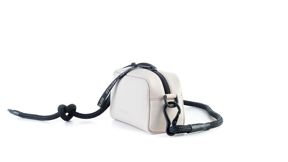 Camera bag, medium/Climbing rope beige Distyled