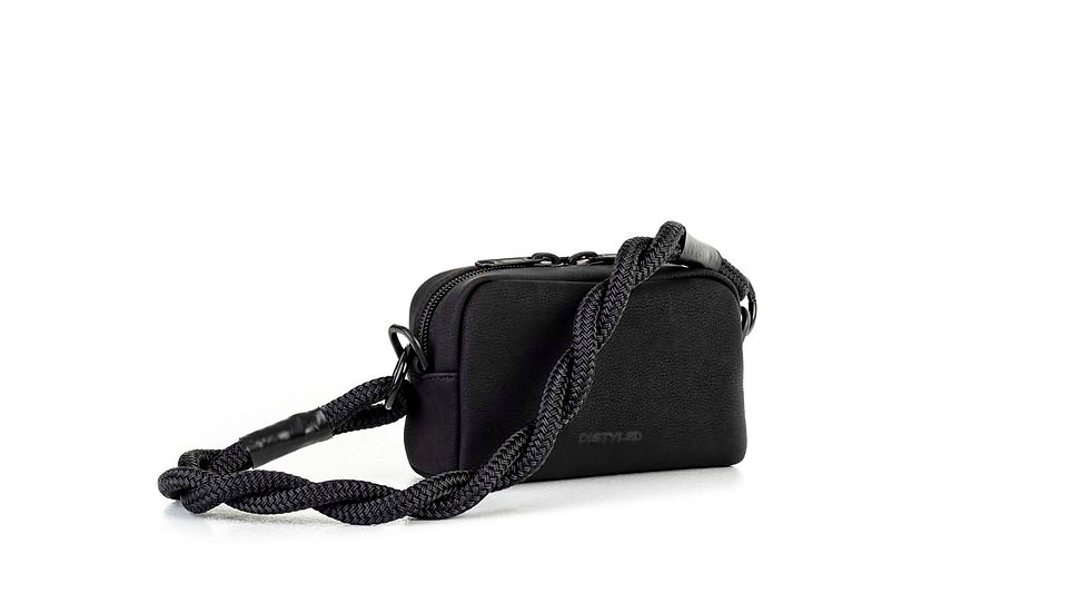 Eco camera bag, small / twisted strap