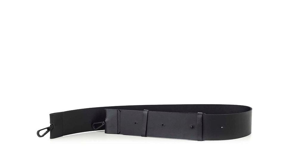 Flat leather strap 6 cm