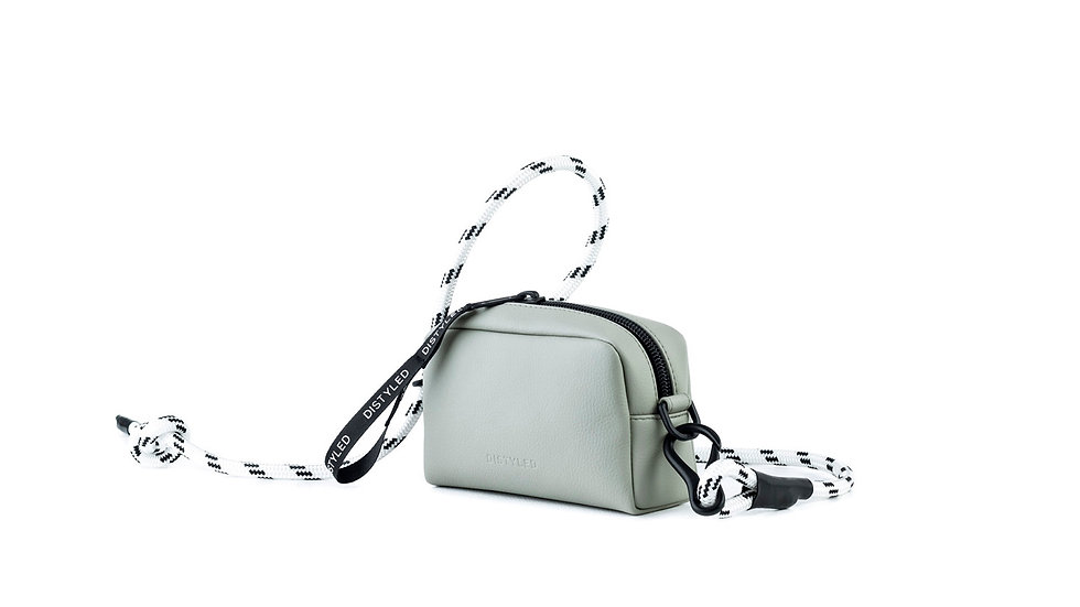 Camera bag, xsmall / rope strap sage colour Distyled