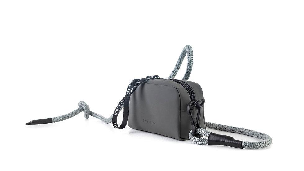 Eco camera bag, small / climbing rope grey Distyled