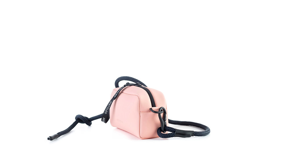 Camera bag, xsmall / rope strap light pink Distyled