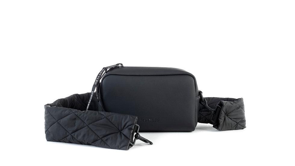 Camera bag, big/ quilted strap