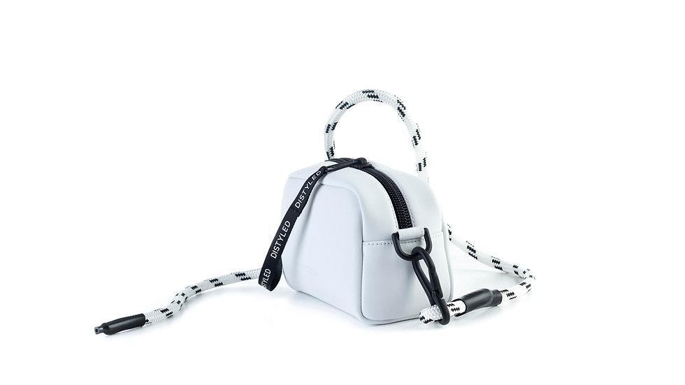 Camera bag, medium/ rope strap white Distyled