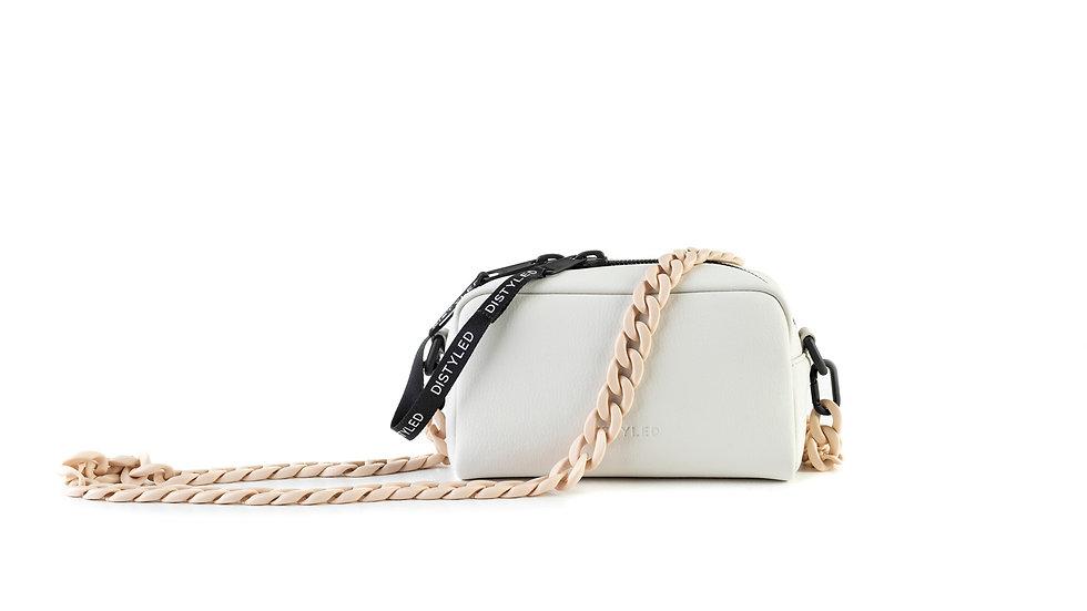 Camera bag, medium/ plastic chain