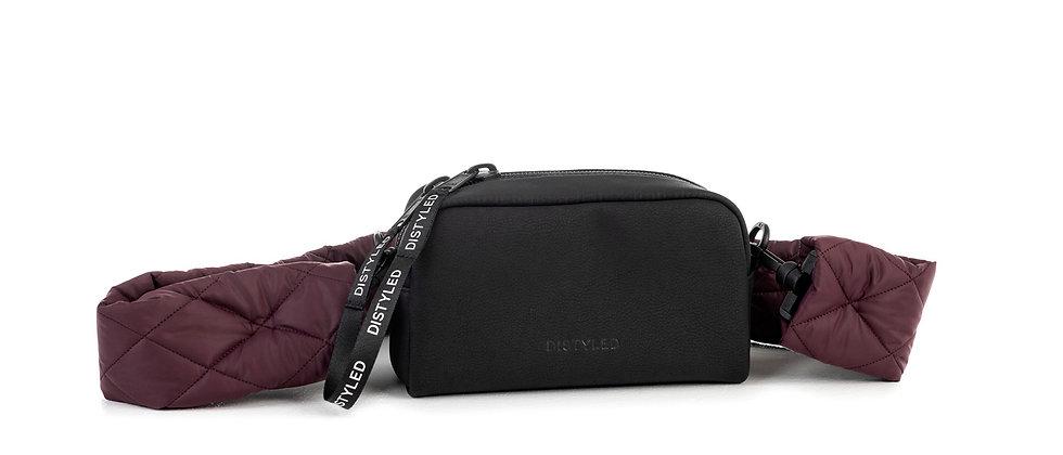 Eco  Camera bag, medium/ quilted strap
