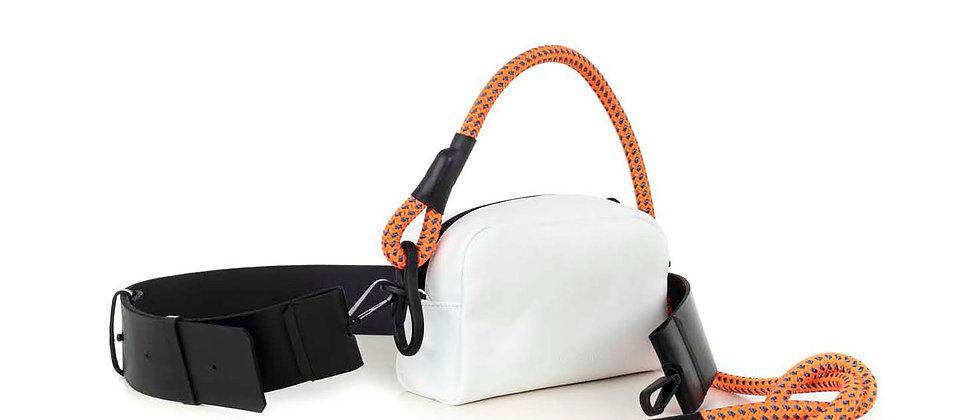 Eco camera bag, small / flat strap / rope