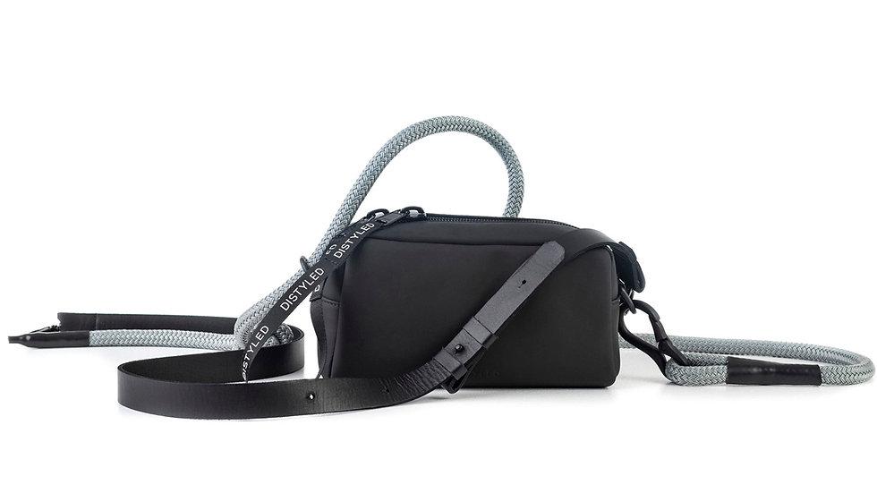 Eco camera bag, medium/ flat strap/ climbing rope