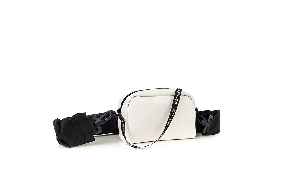 Camera bag, xsmall / rugged strap white Distyled