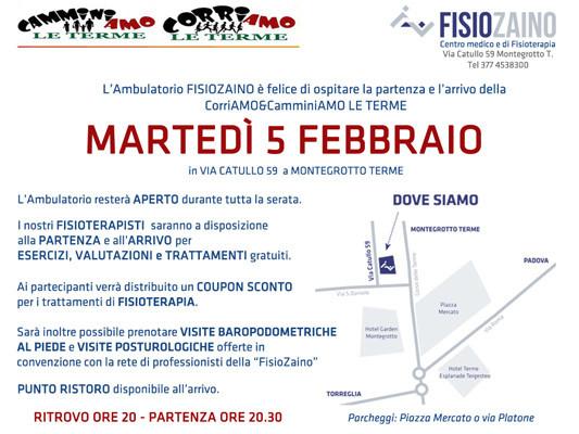 Invito Evento FisioRun