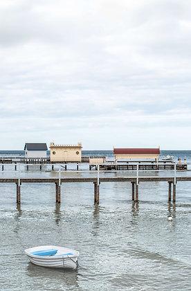 Rowboat at the Pier