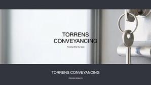 Torrens Conveyancing