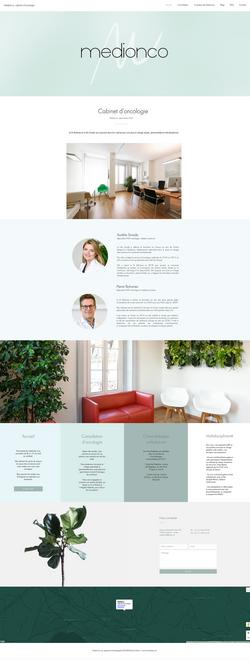 Creation site internet Medionco - Myriam