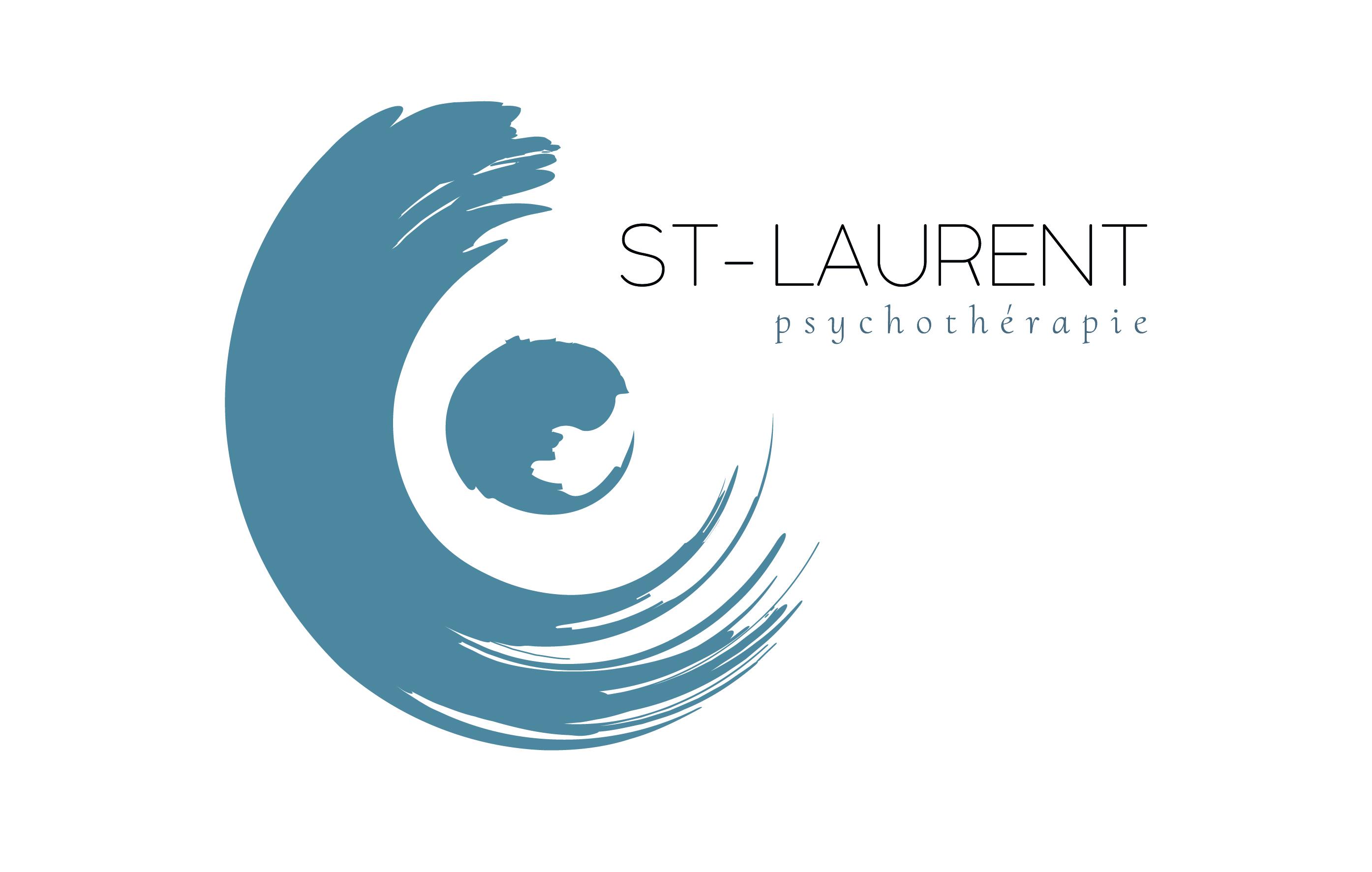 Création du logo St-Laurent psychothérap