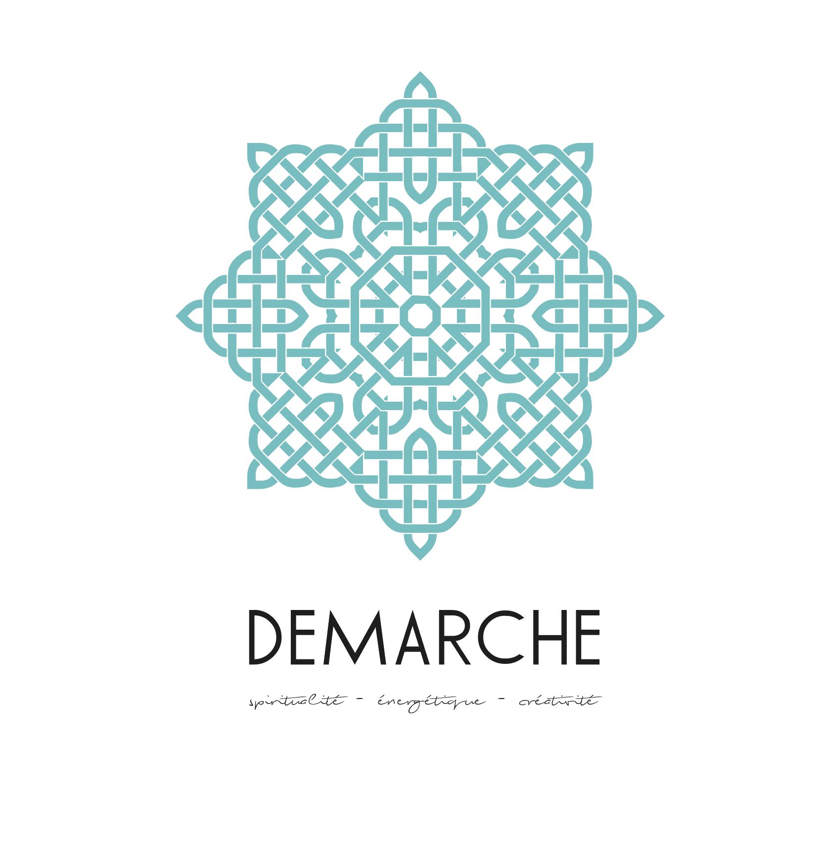 Proposition de logo 4 cabinet Démarche, Nathalie Perler, spiritualité, thérapies énergétiques