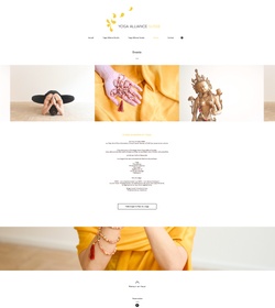 Site Yoga alliance events