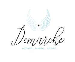 Proposition de logo 1 cabinet Démarche, Nathalie Perler, spiritualité, thérapies énergétiques