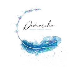 Proposition de logo 6 cabinet Démarche, Nathalie Perler, spiritualité, thérapies énergétiques