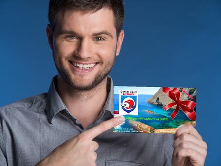 Offrez le permis bateau avec le coffret cadeau!