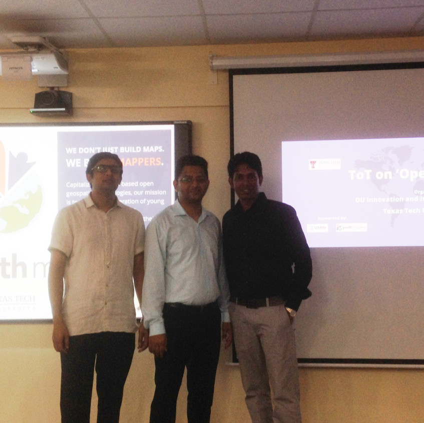 With Prof Rashed and Khalid