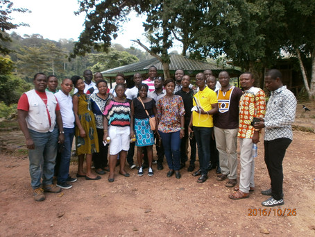 UCC Ghana YouthMappers introduce OSM to multidisciplinary stakeholders on disaster management