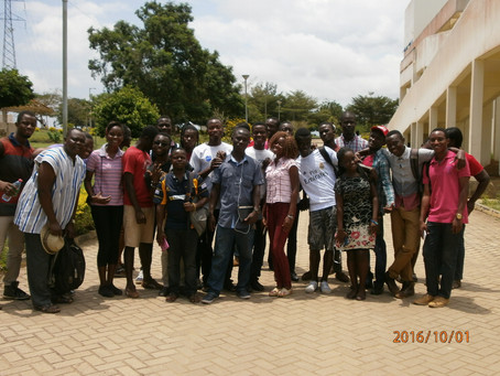 UCC Ghana YouthMappers student leaders train their colleagues in OpenStreetMapping