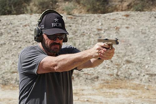 Larry Vickers 2 Day Advanced Pistol Jan 16-17, 2021 Los Angeles, CA