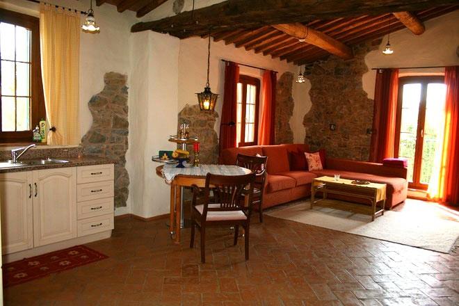 Salotto Villa Santi