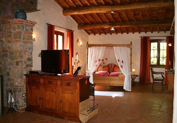 Villa Santi Camera da letto