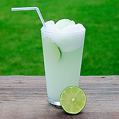 Iced Fresh Lime Soda (12oz)